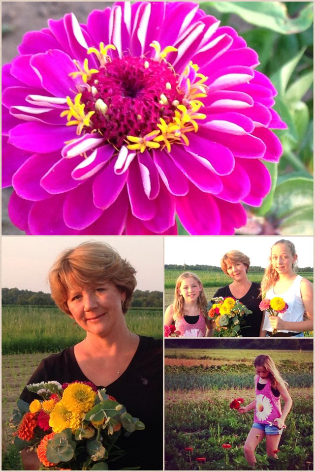 Savoring Flowers–and Friends